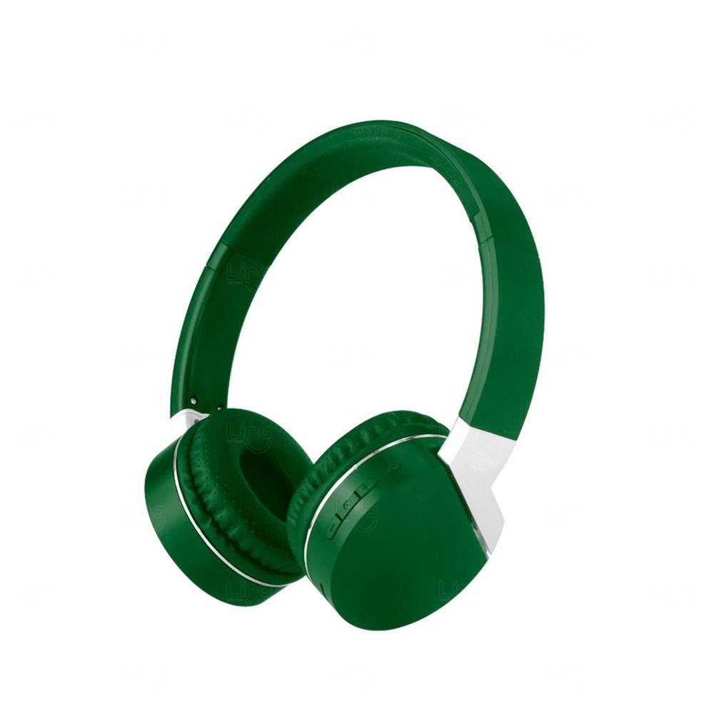Fone de Ouvido Wireless Personalidade Verde
