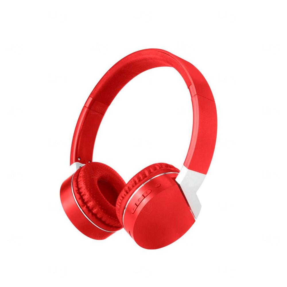 Fone de Ouvido Wireless Personalidade Vermelho