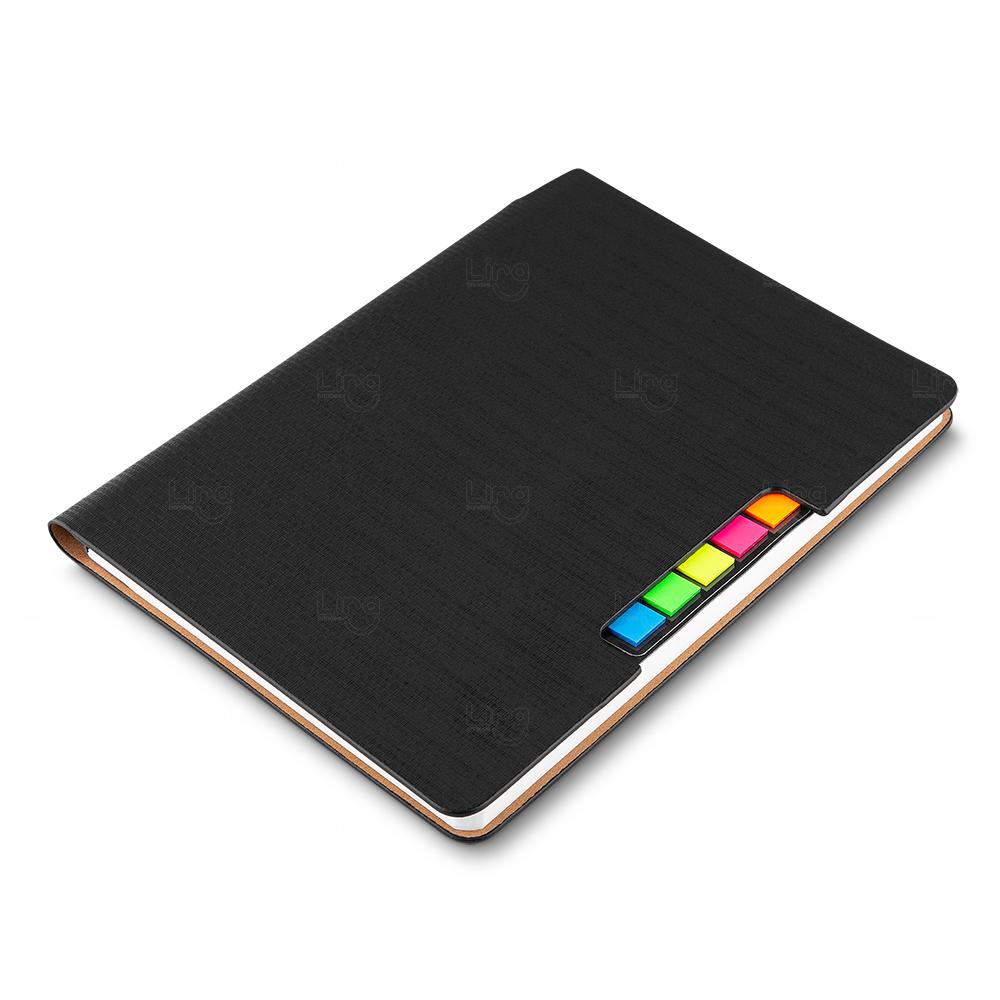 Caderno Para Anotações Personalizado Preto