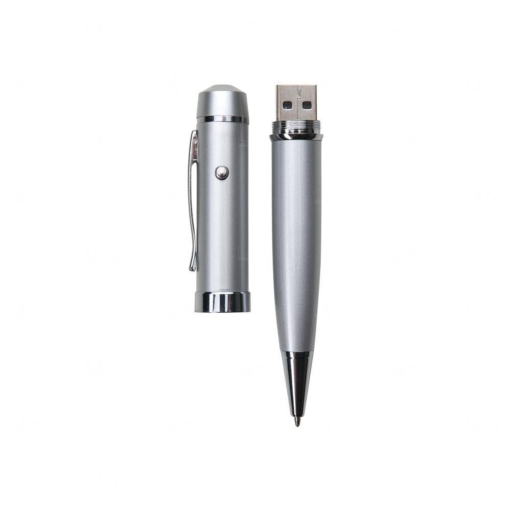 Caneta com Laser e Pendrive Personalizada 08 GB