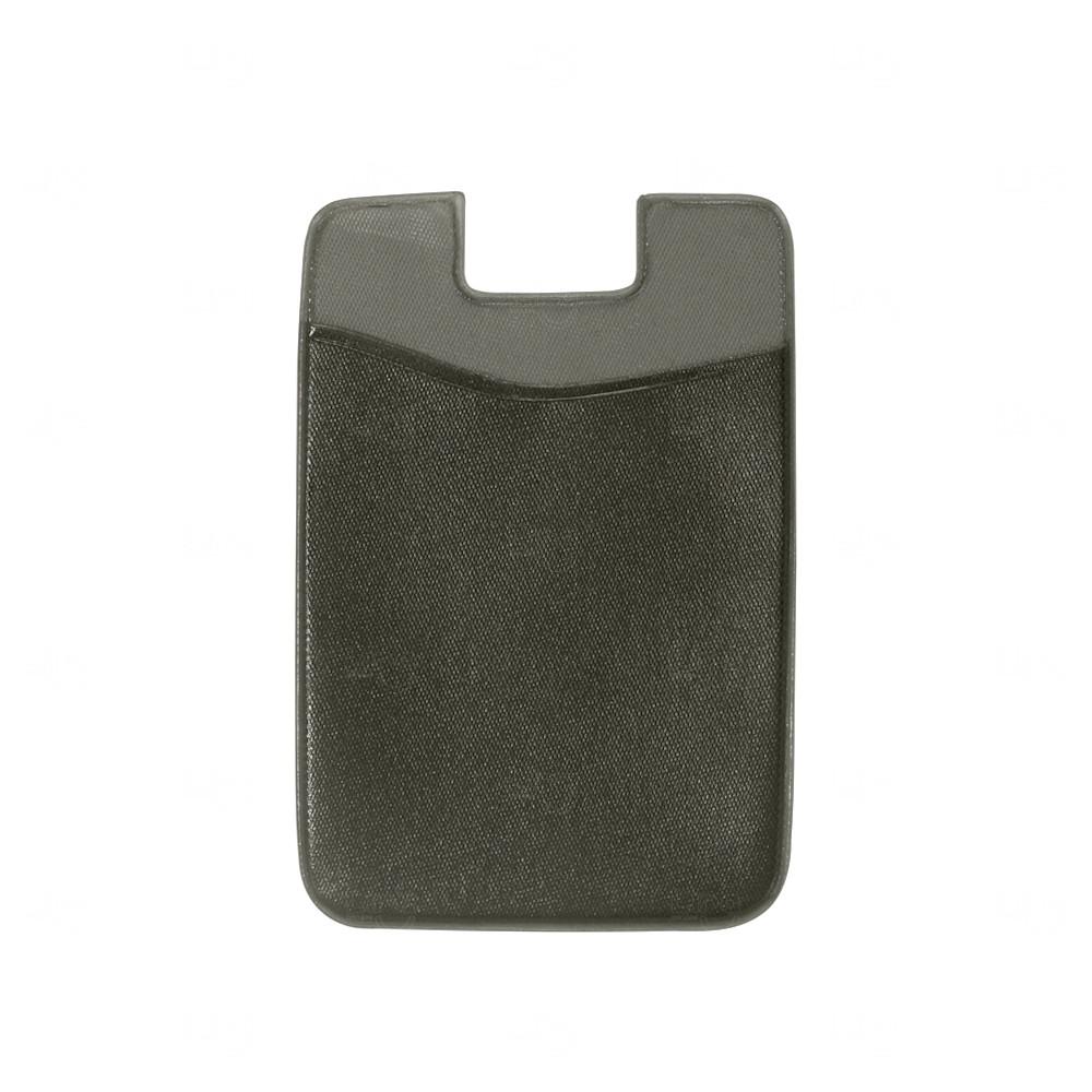 Adesivo Porta Cartão P/ Celular Personalizado Preto