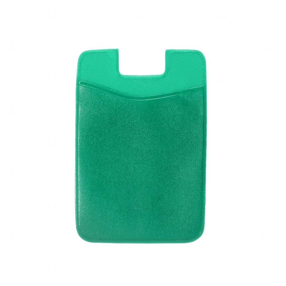 Adesivo Porta Cartão P/ Celular Personalizado Verde