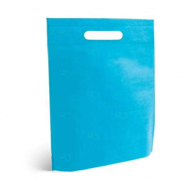 Sacola Personalizada Grande em TNT Azul Claro