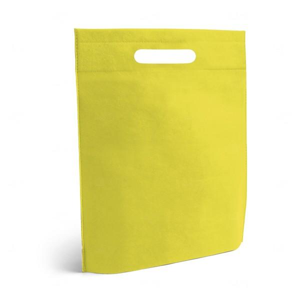 Sacola Personalizada Grande em TNT Amarelo
