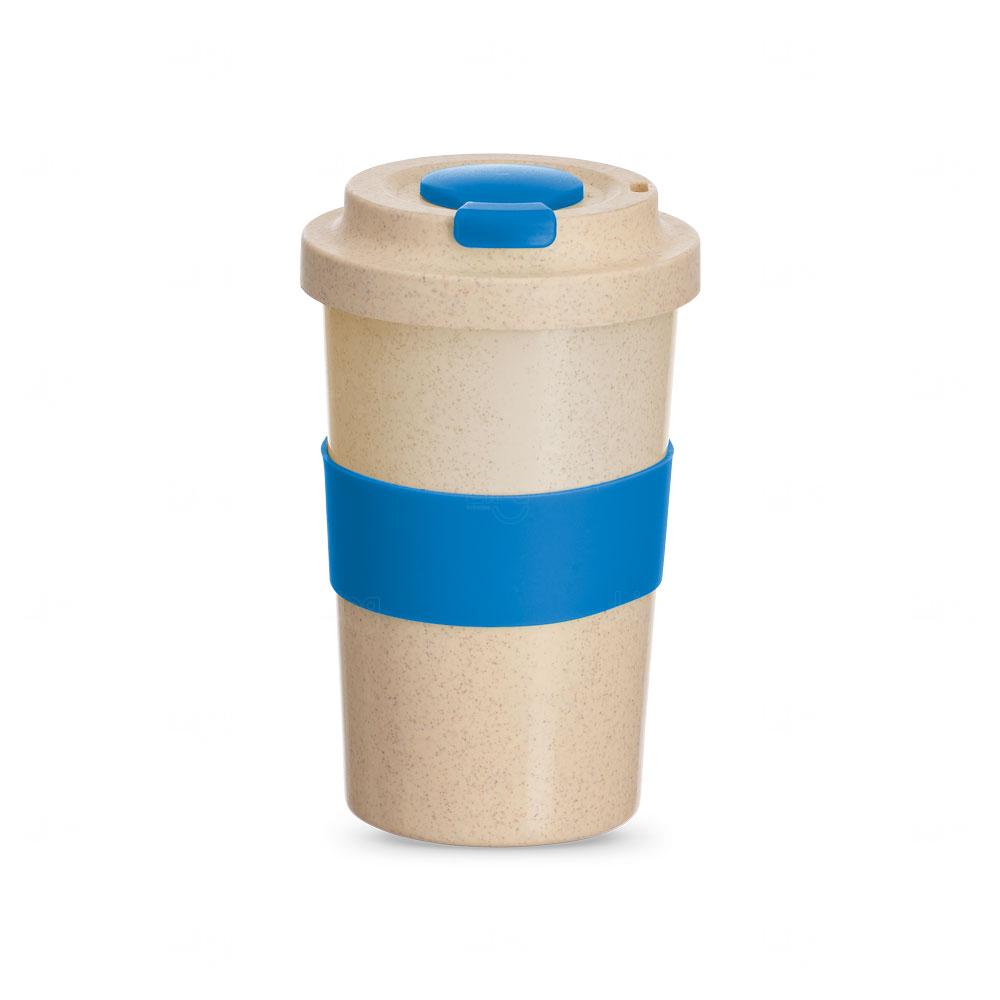 Copo Personalizado de Fibra Bambu - 450 ml Azul