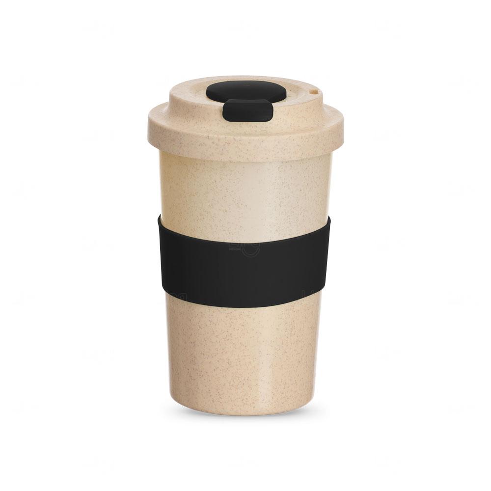 Copo Personalizado de Fibra Bambu - 450 ml Preto