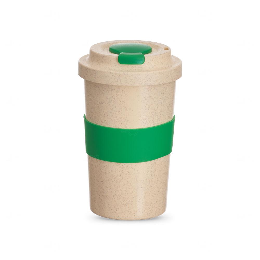 Copo Personalizado de Fibra Bambu - 450 ml Verde