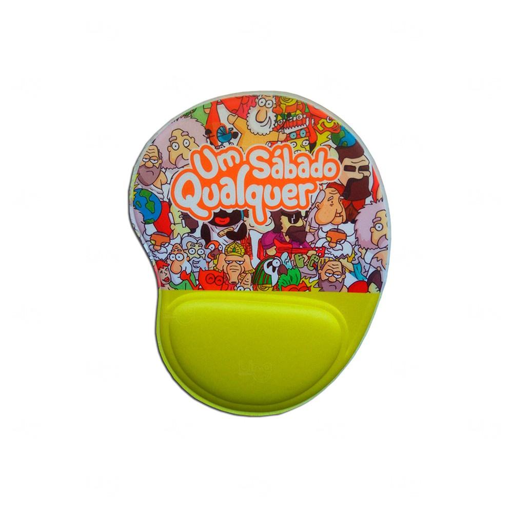 Mouse Pad Personalizado Ergonômico Verde Claro