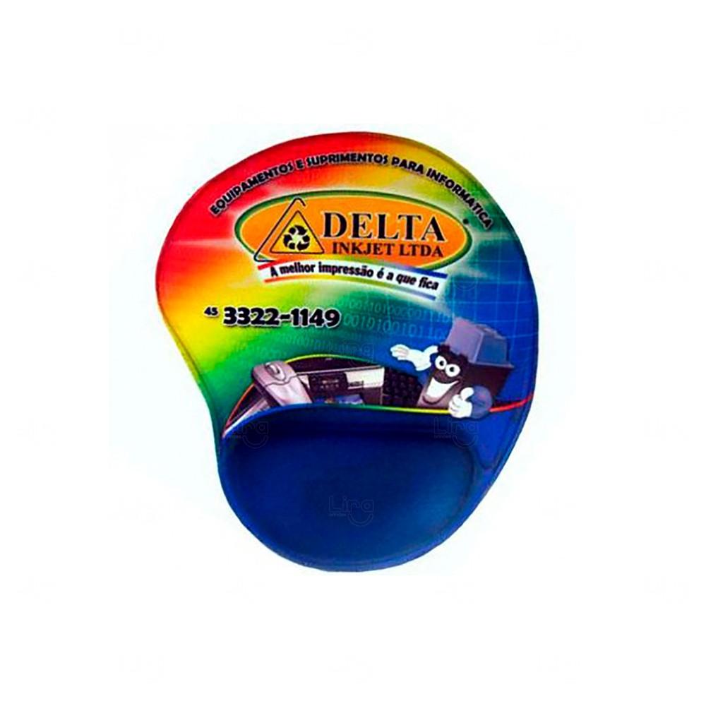 Mouse Pad Personalizado Ergonômico Colorido