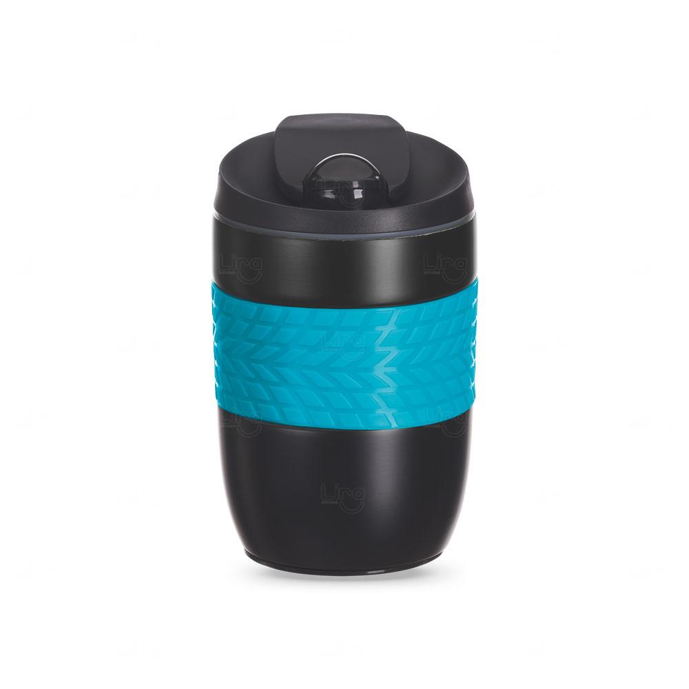 Caneca Personalizada Antiqueda Conserva a Temperatura - 260 ml Azul Claro