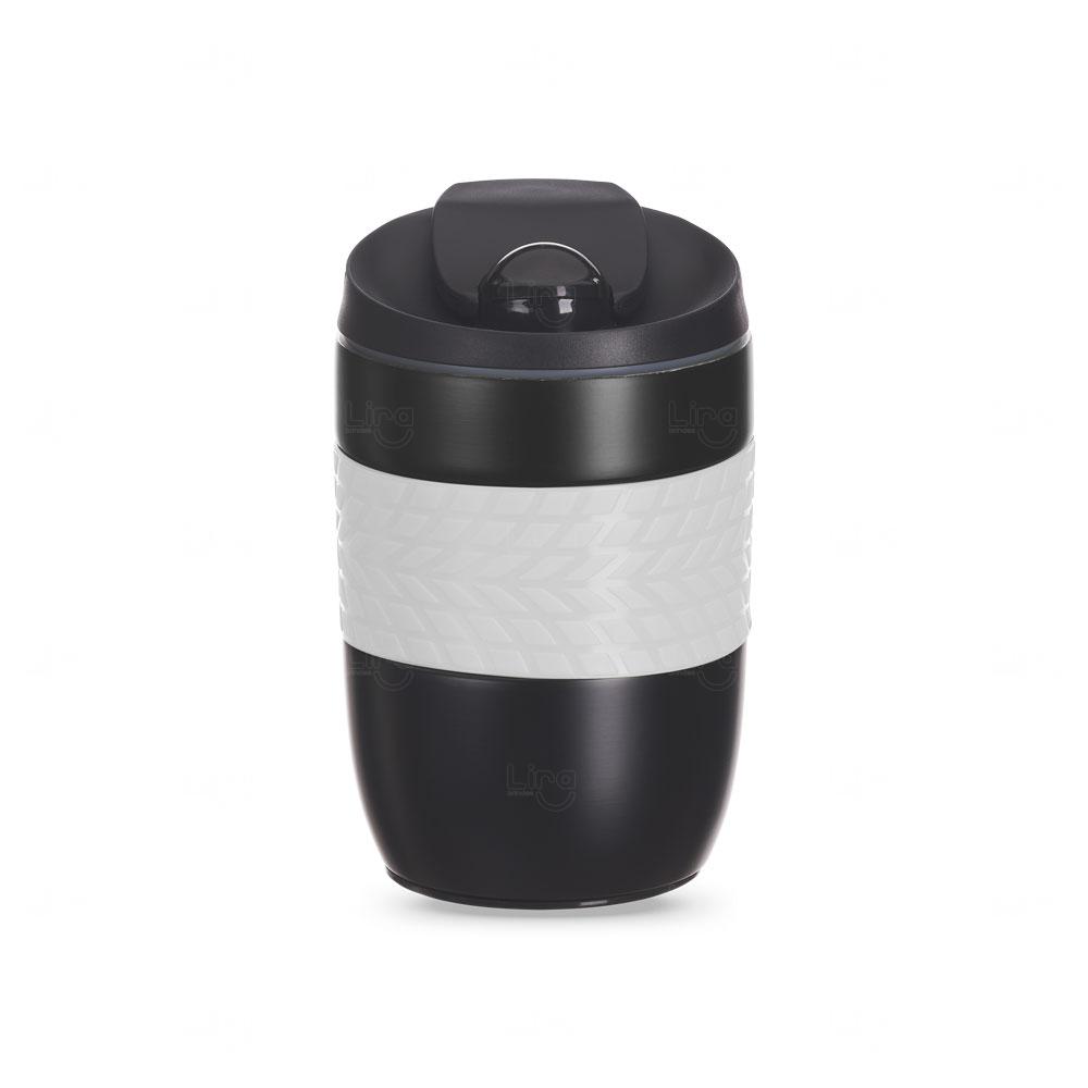 Caneca Personalizada Antiqueda Conserva a Temperatura - 260 ml Cinza Claro