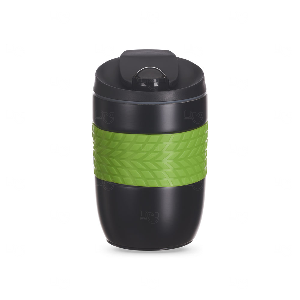 Caneca Personalizada Antiqueda Conserva a Temperatura - 260 ml Verde Claro