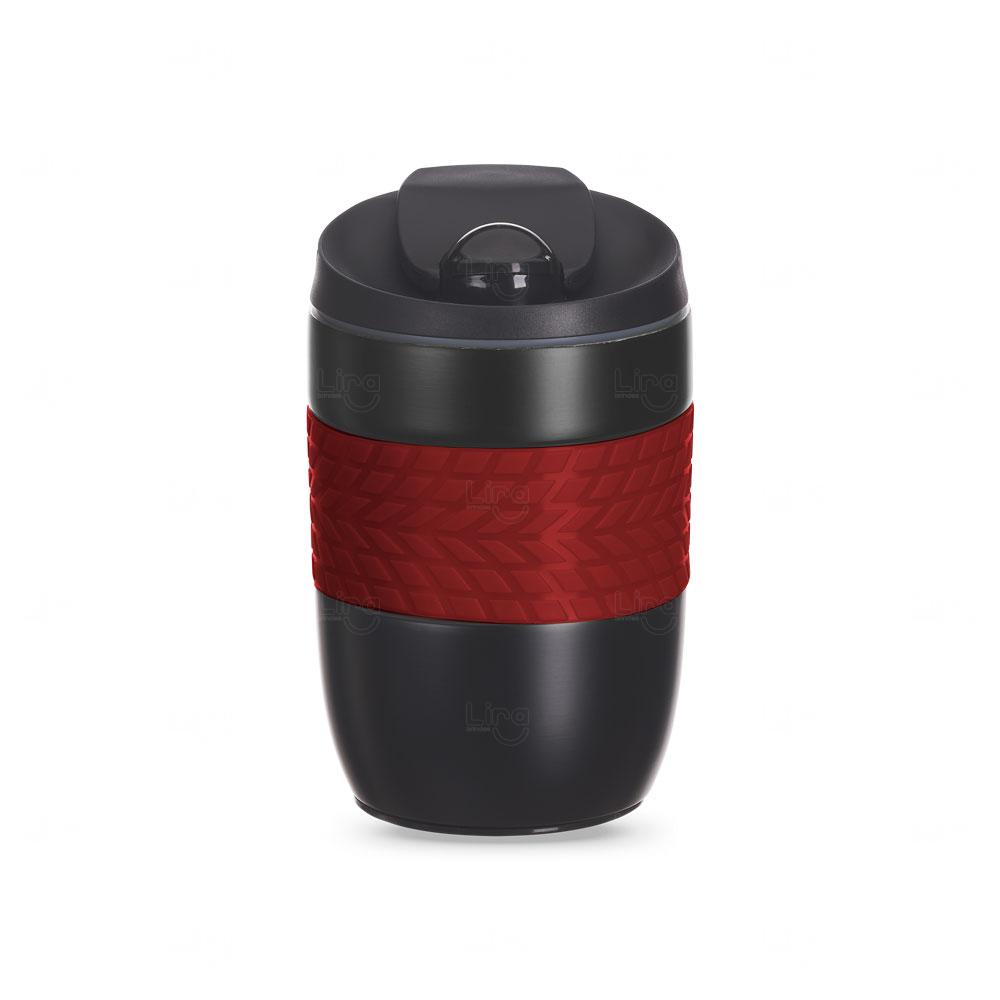 Caneca Personalizada Antiqueda Conserva a Temperatura - 260 ml Vermelho