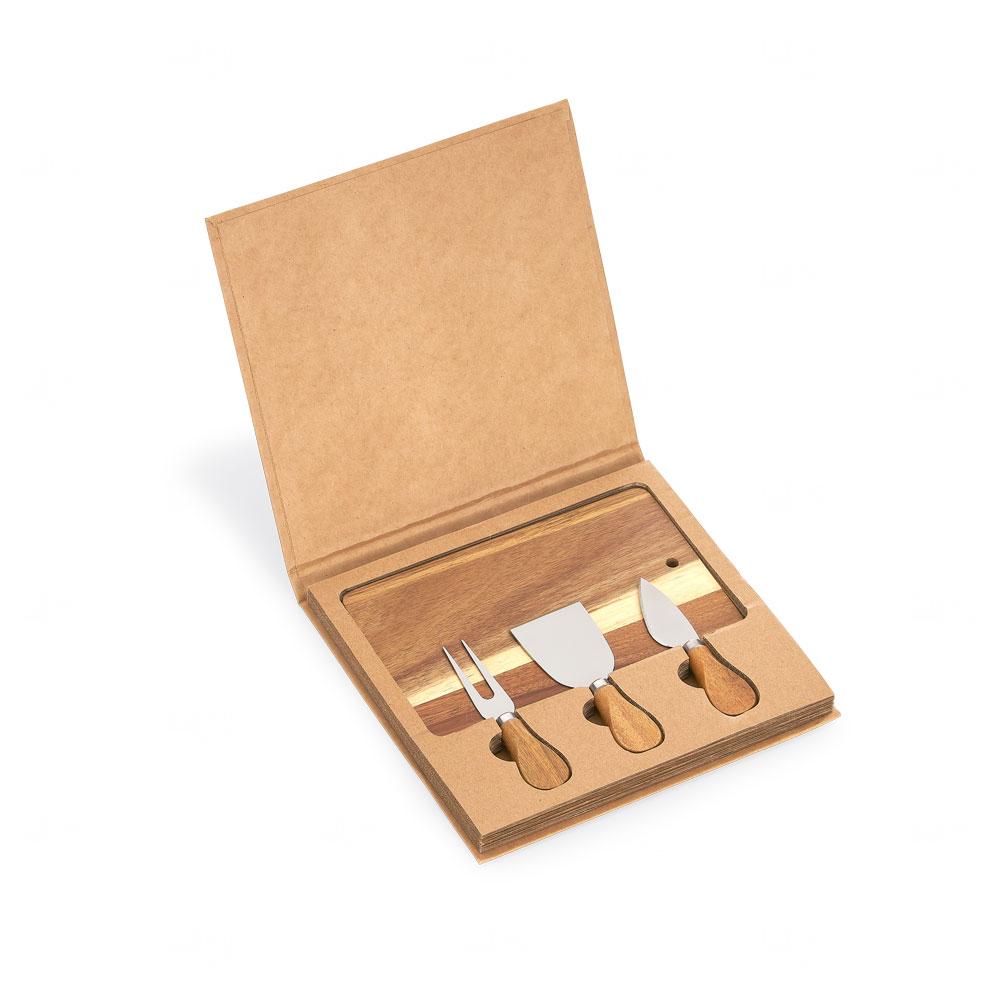 Conjunto Kit queijo Personalizado com 04 Peças