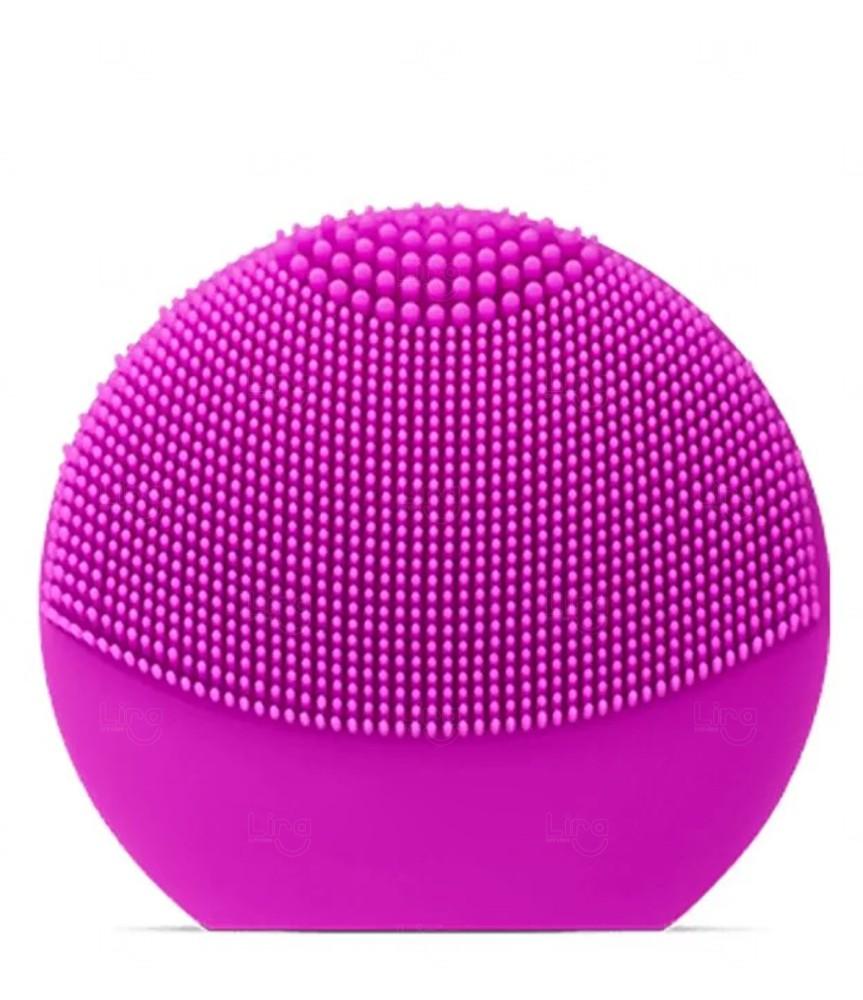 Aparelho de Limpeza Facial Personalizado Recarregável Rosa Pink