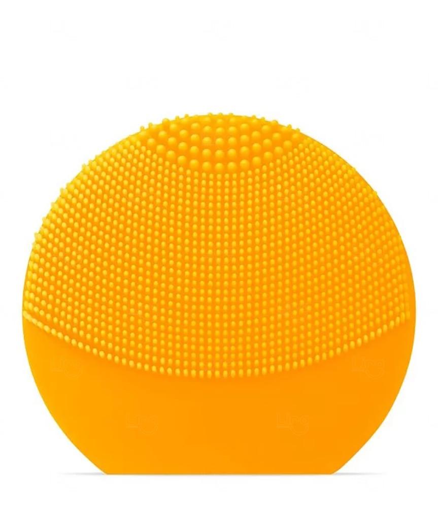 Aparelho de Limpeza Facial Personalizado Recarregável Amarelo