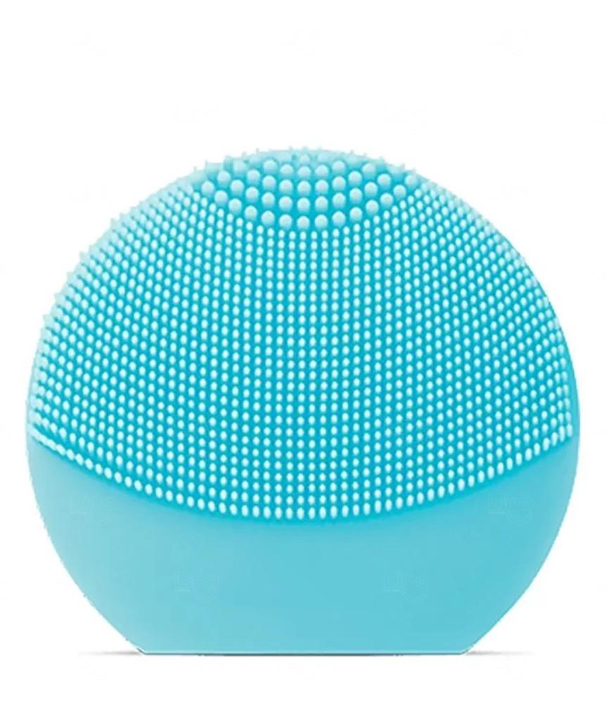 Aparelho de Limpeza Facial Personalizado Recarregável Azul Claro