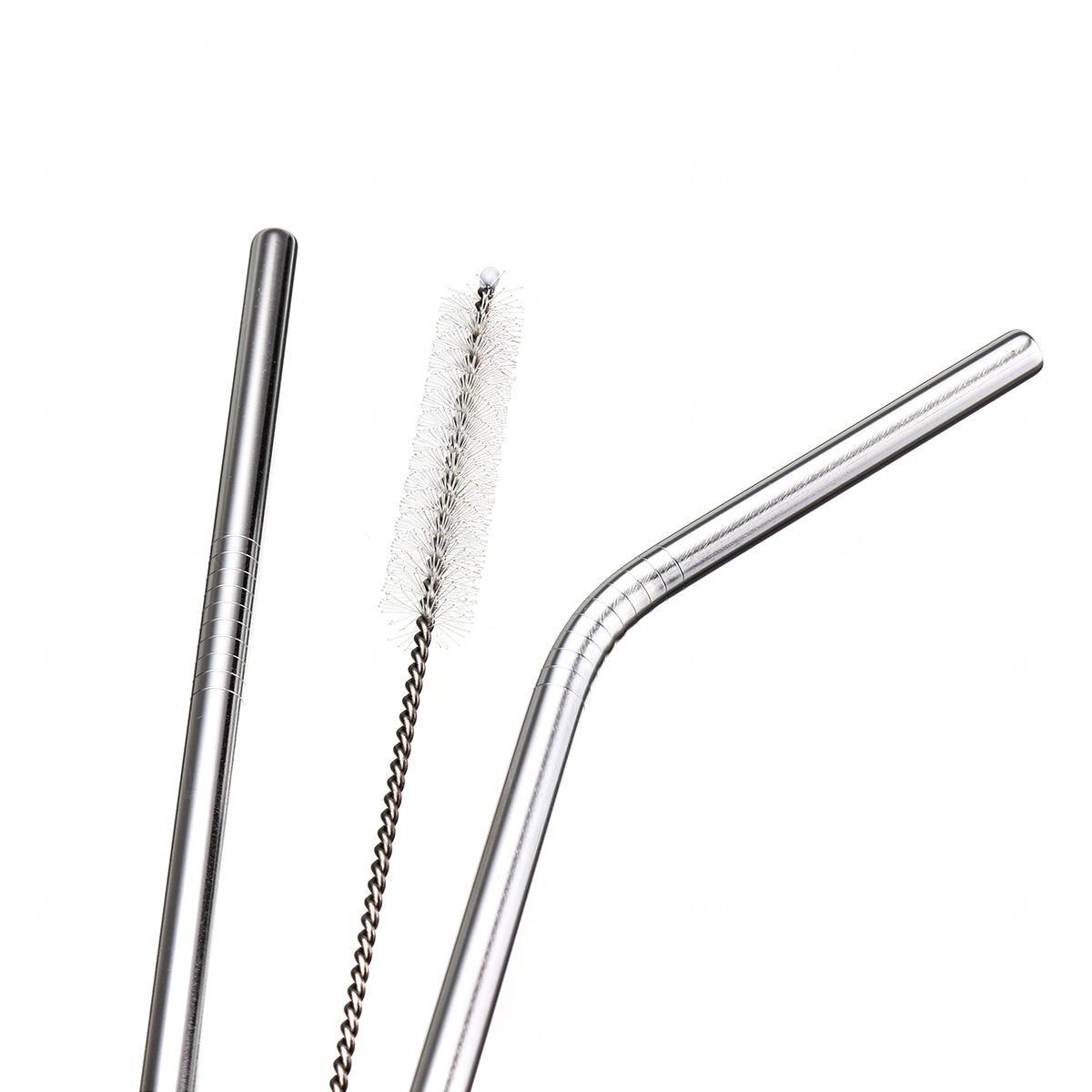 Kit Canudo de Metal Personalizado