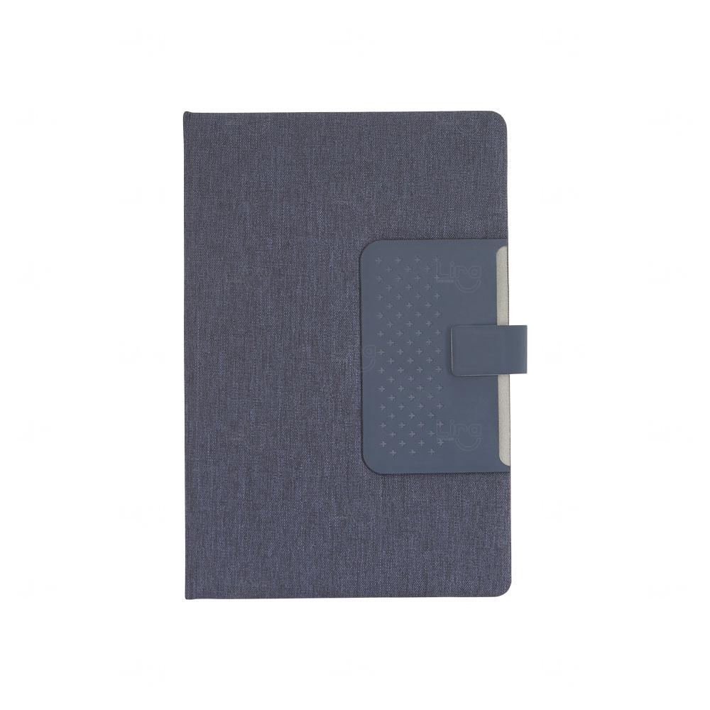 Caderno de Anotações Personalizado com Fecho Magnético