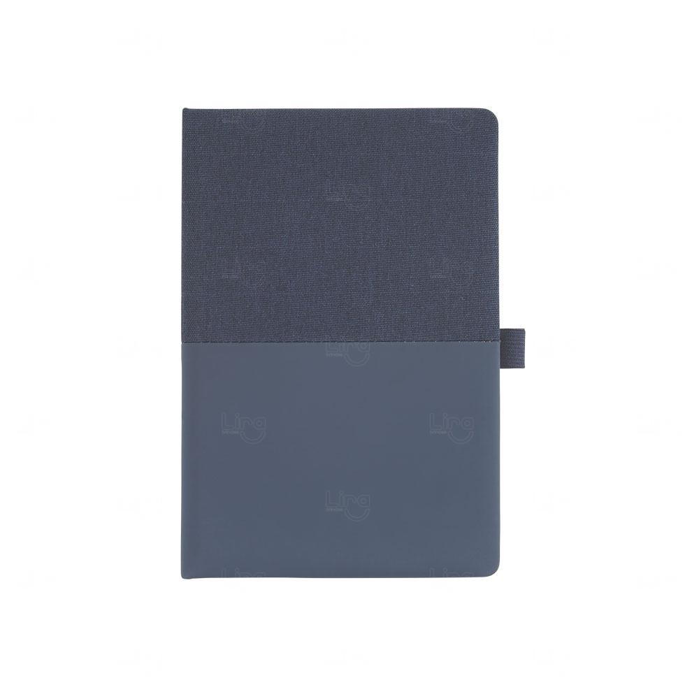 Caderno de Anotações Personalizado com Capa Almofadada