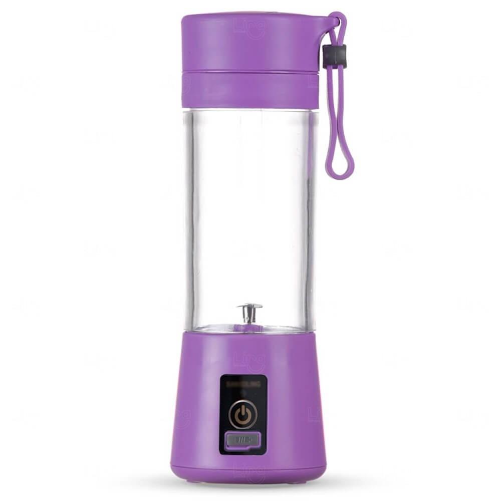 Mini Liquidificador Smart Personalizado - 380 ml Roxo