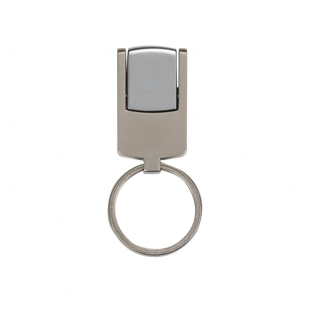 Mini Chaveiro Pen Drive Metal Personalizado - 8 GB Prata