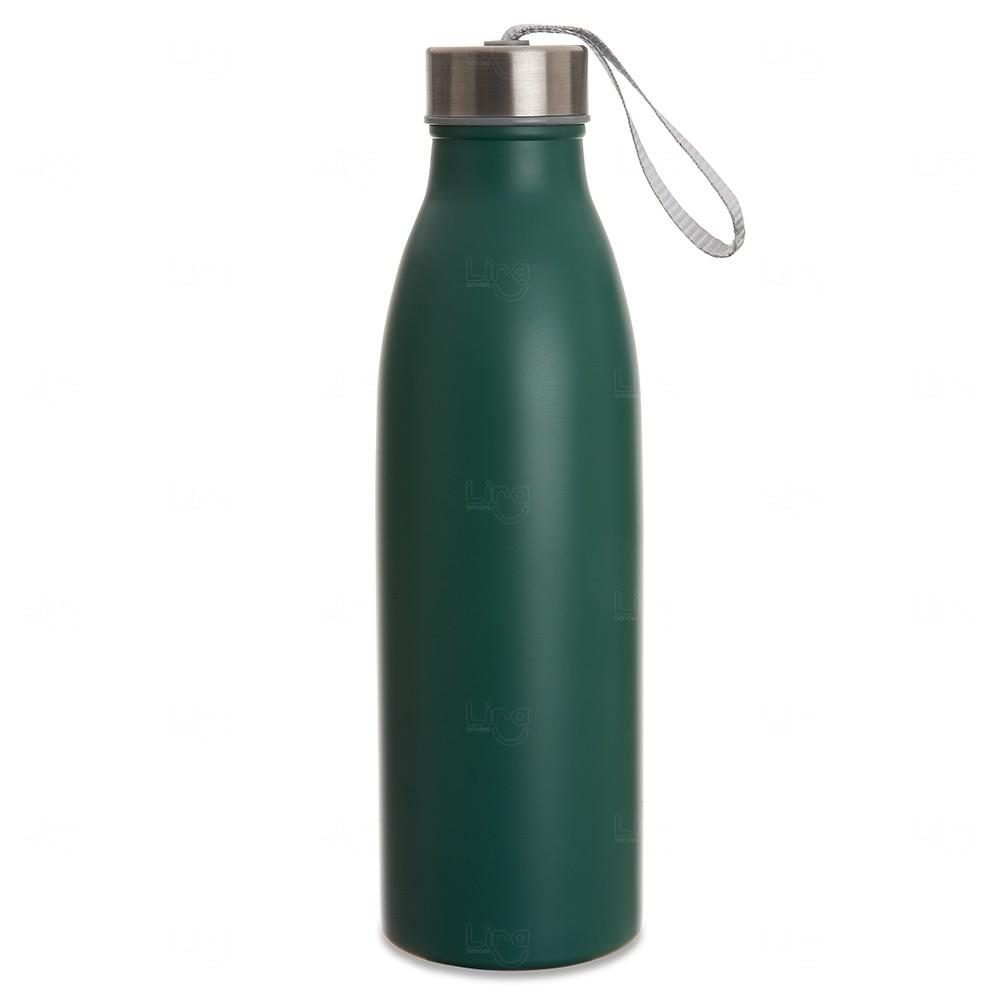 Garrafa Inox Personalizada - 750ml Verde