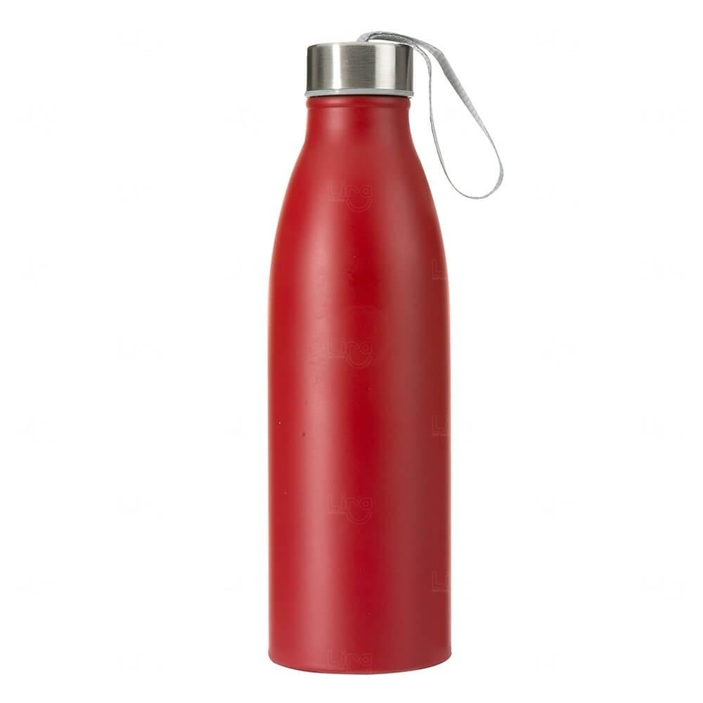 Garrafa Inox Personalizada - 750ml Vermelho