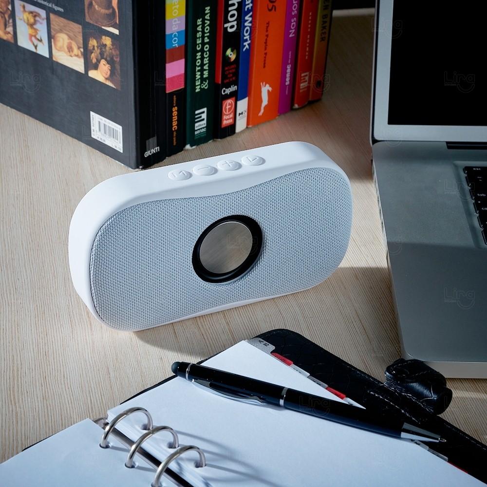 Caixa de Som Multimídia Personalizada Branco