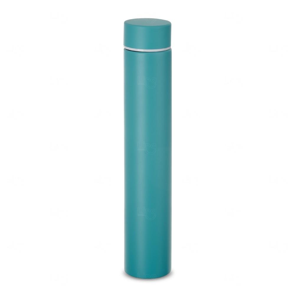 Garrafa Térmica Personalizada - 275 ml Azul Claro