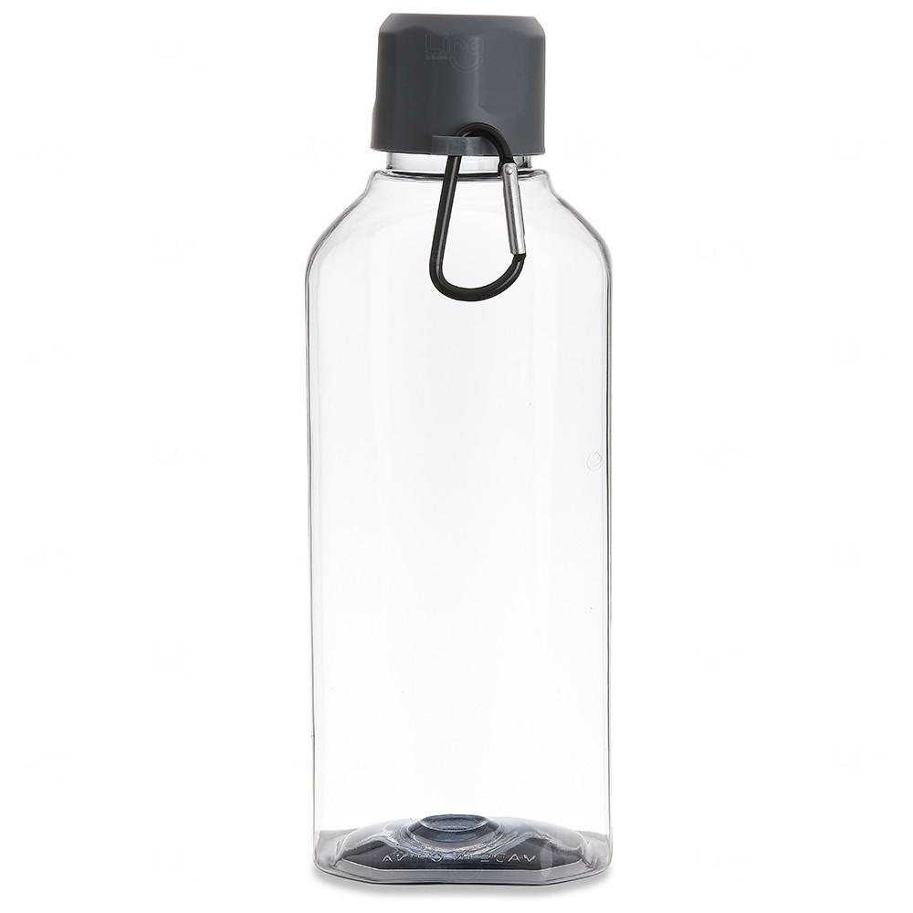 Squeeze Plástico Personalizado - 730 ml Cinza
