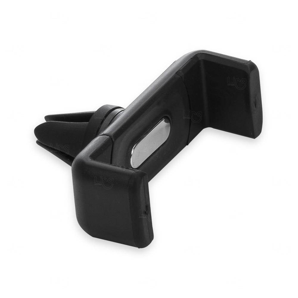 Suporte Veicular Para Celular Personalizado Preto