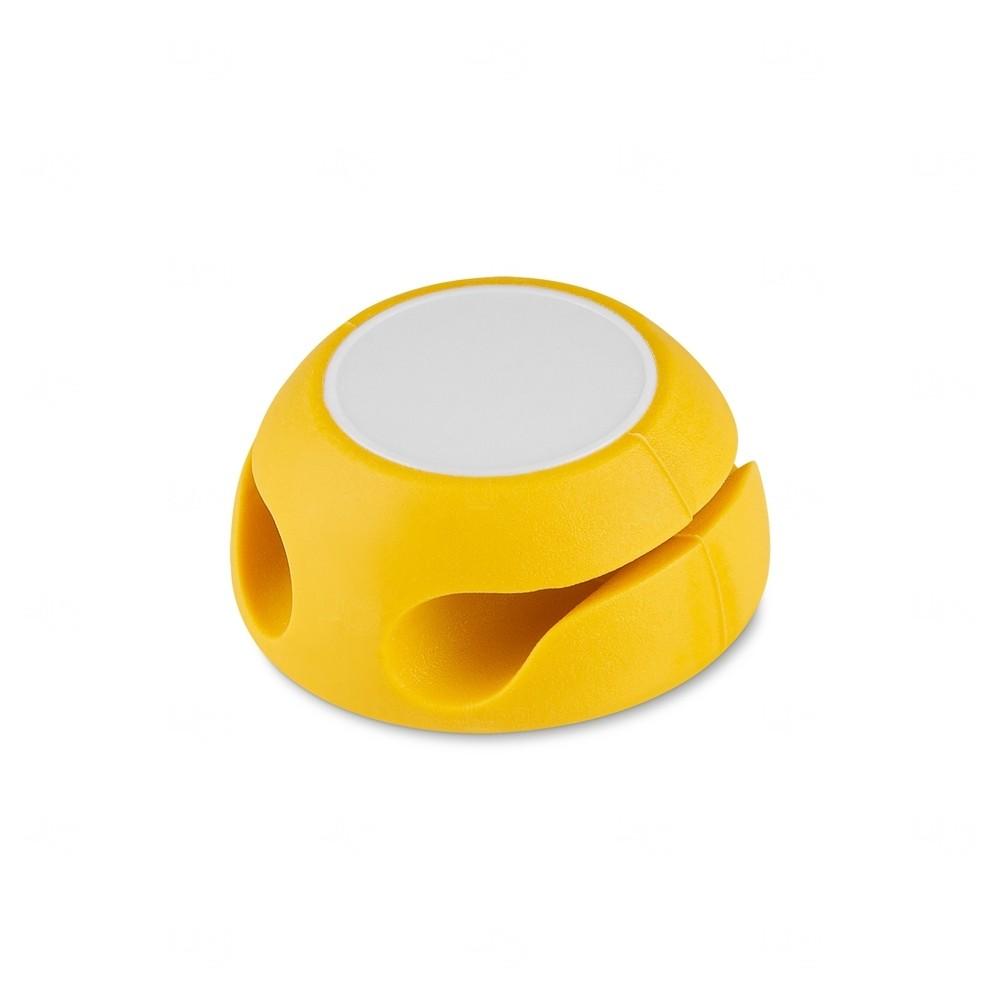 Organizador De Cabos Personalizado Amarelo