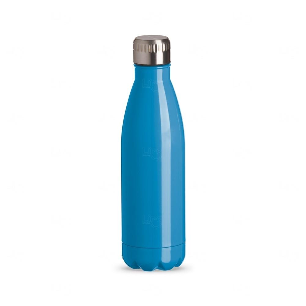 Squeeze Inox Color Personalizada - 750 ml Azul