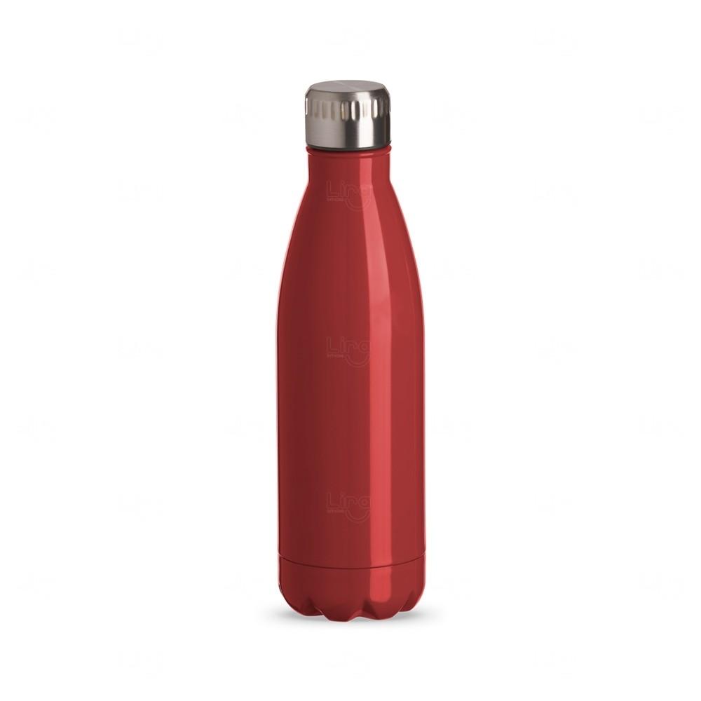 Squeeze Inox Color Personalizada - 750 ml Vermelho