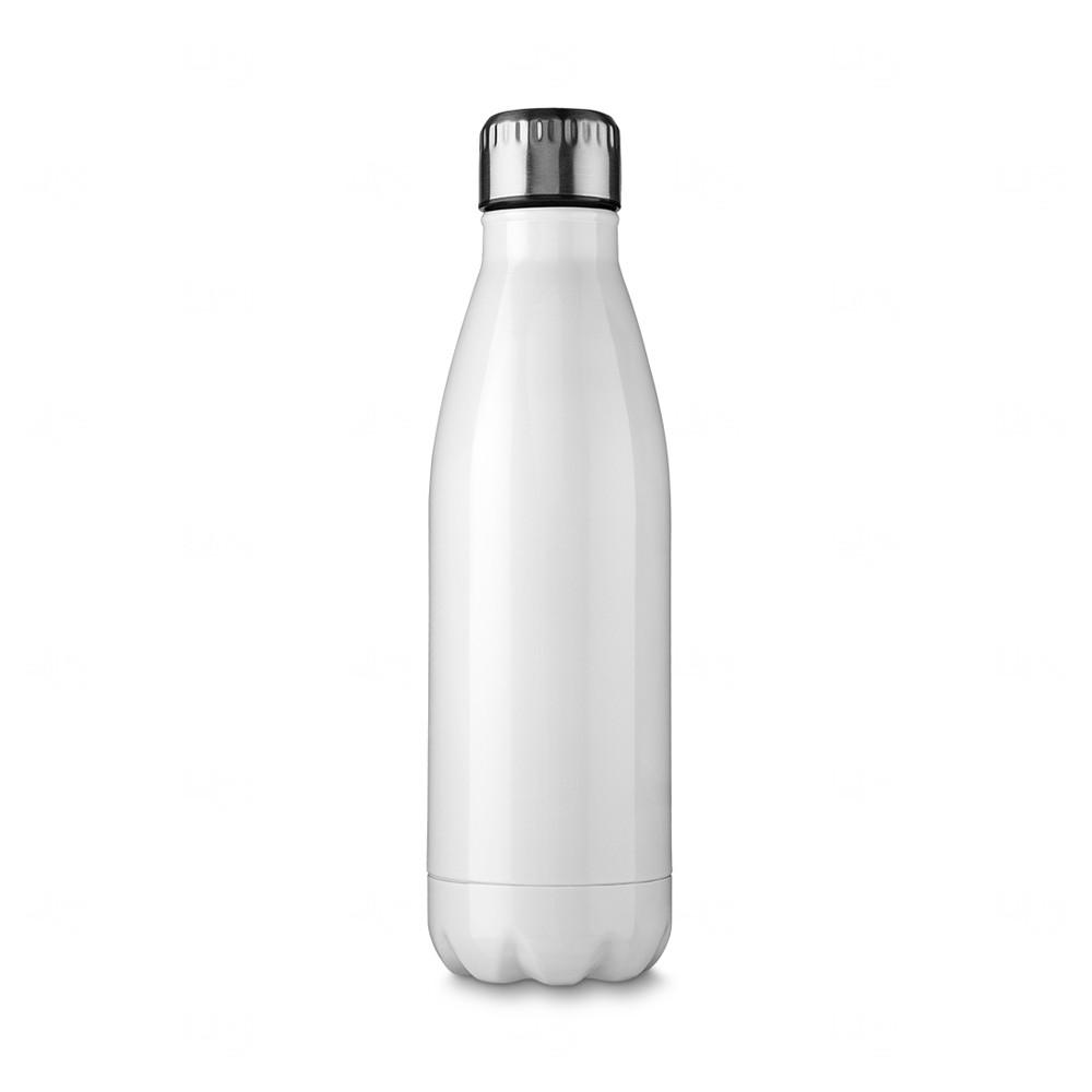Squeeze Inox Color Personalizada - 750 ml Branco