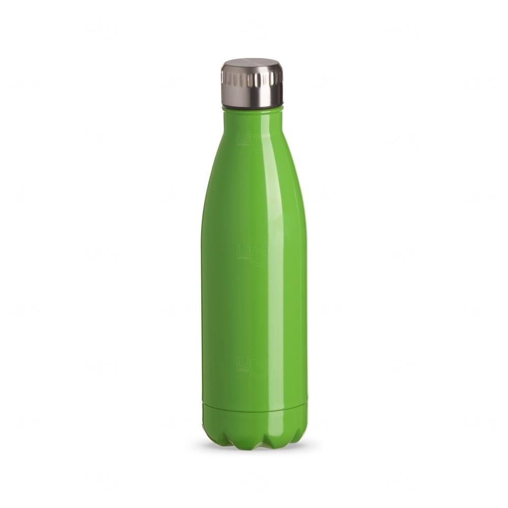 Garrafa Inox Color Personalizada - 750 ml Verde