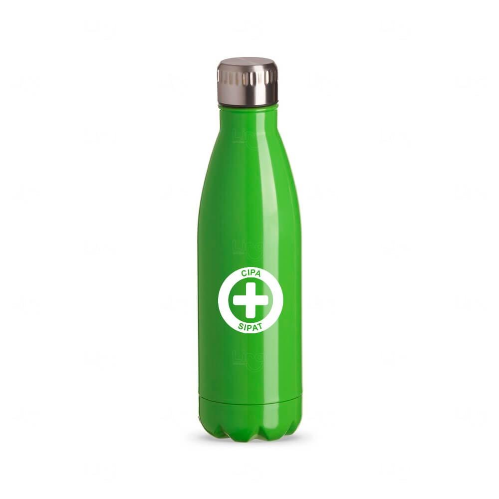 Squeeze Inox Color Personalizada - 750 ml Verde