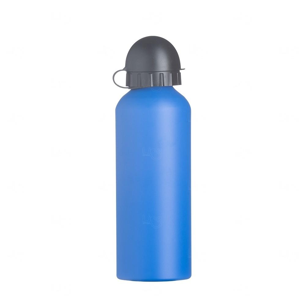 Squeeze Alumínio Fosco Personalizado - 500ML Azul