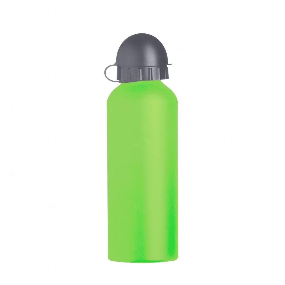 Squeeze Alumínio Fosco Personalizado - 500ML Verde