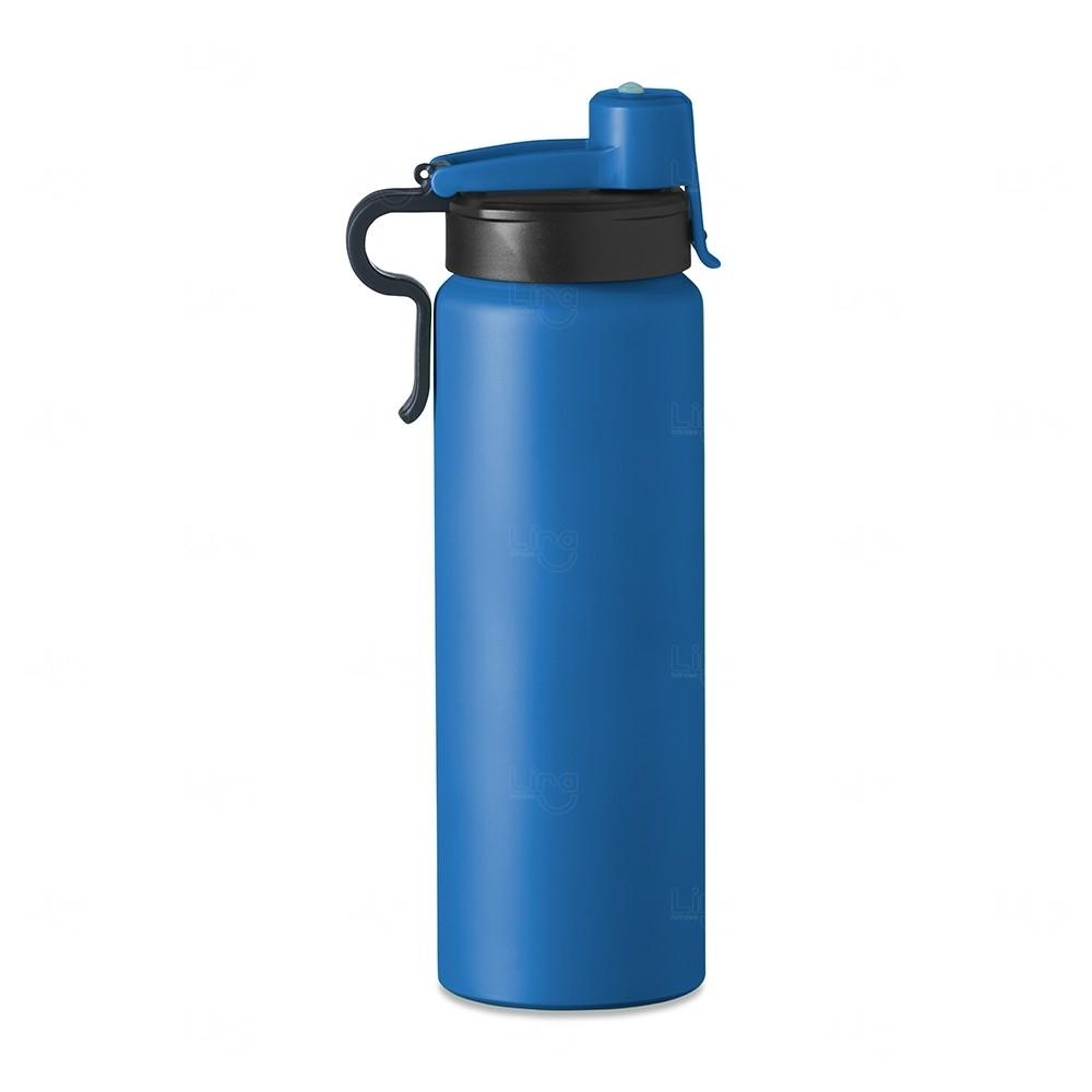 Squeeze Alumínio Personalizada - 800 ml Azul