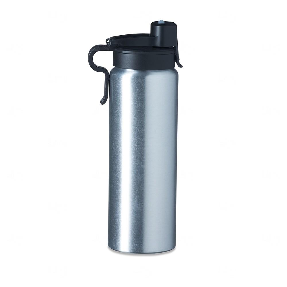 Squeeze Alumínio Personalizada - 800 ml Inox