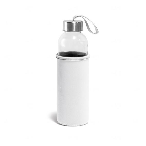 Squeeze De Vidro Personalizado - 520 ml Branco