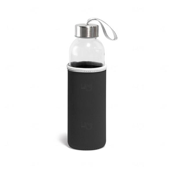Squeeze De Vidro Personalizado - 520 ml Preto