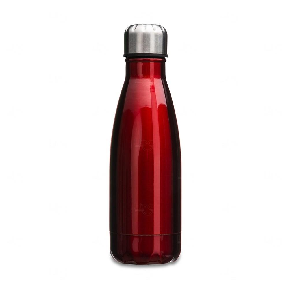 Garrafa Inox Personalizada - 550 ml Vermelho
