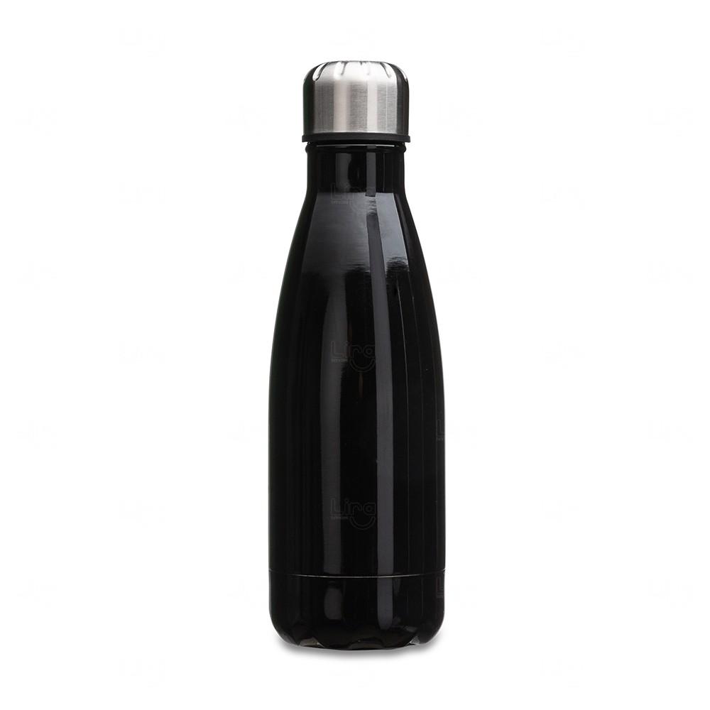 Garrafa Inox Personalizada - 550 ml Preto