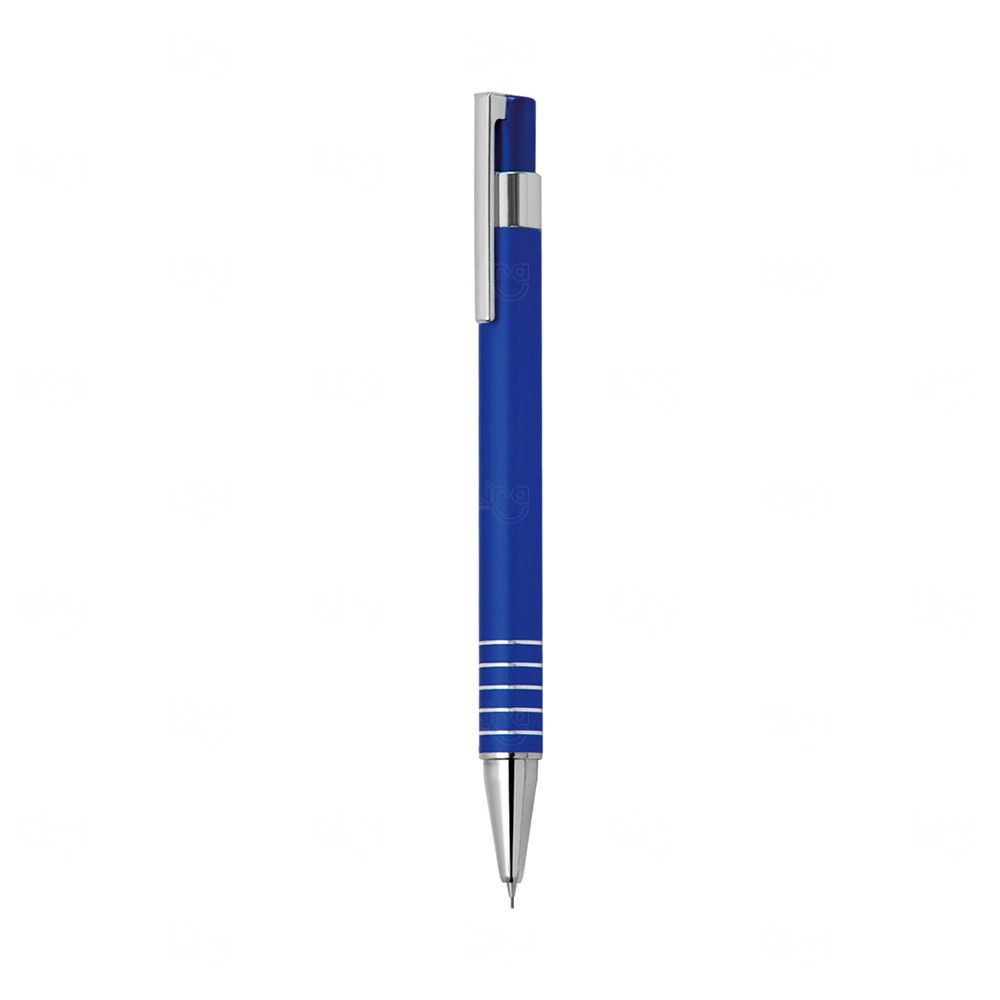 Lapiseira Metálica Personalizada Azul