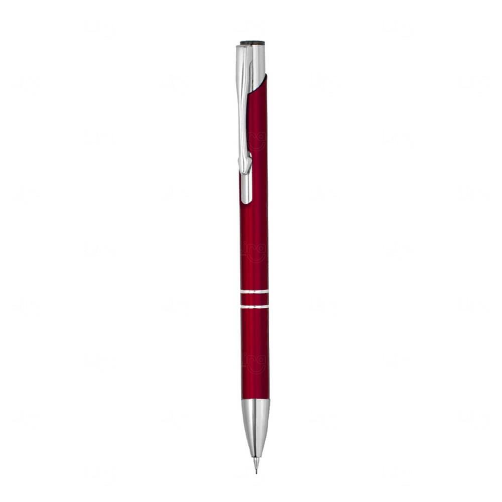 Lapiseira Metálica Personalizada Vermelho