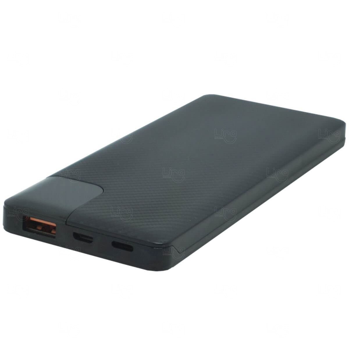 Power Bank Portátil Slim Personalizado - 10.000 mAh