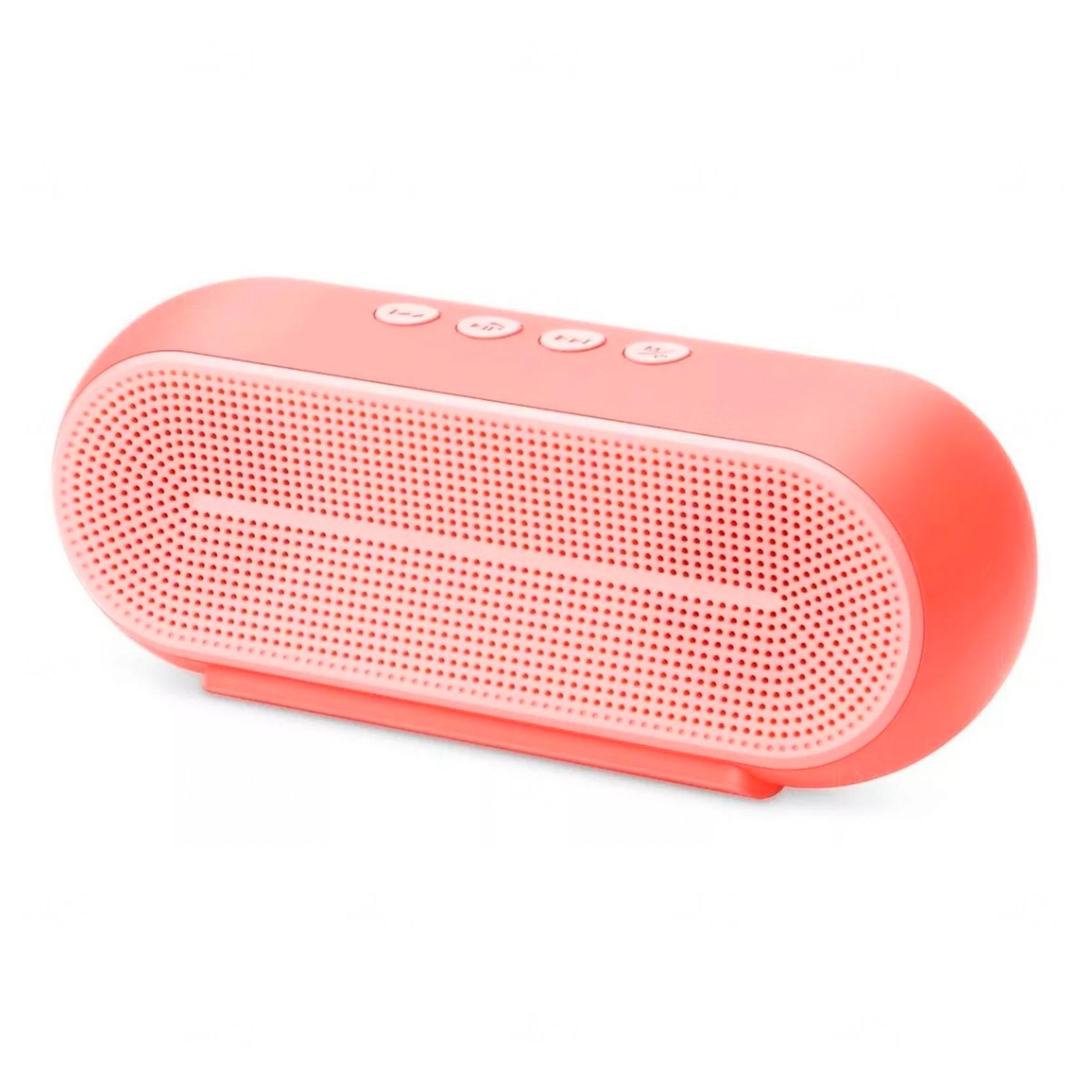 Caixa De Som Bluetooth Personalizada Rosa Claro